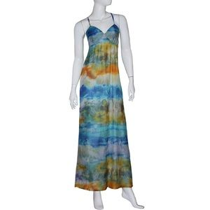Gypsy 05 Dress NWT Size Small Multicolor 100% Silk
